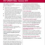 FAQ ITIL 2010 Edition