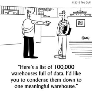 Cartoon Big Data