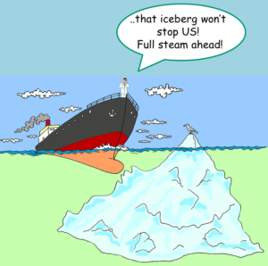 …don't forget!  ABC is like an Iceberg…..a lot of it hidden beneath  the surface, and capable of inflicting damage!