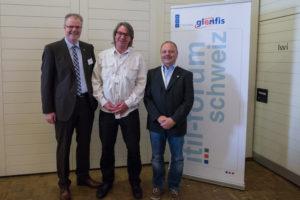 Die drei Musketiere - ITIL Master der Schweiz: Thomas Schmitt, Mathias Traugott und Martin Andenmatten