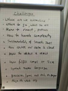 Aktuelle Herausforderungen aus Sicht der Experten