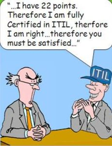 ITIL Certification means I know what I'm doing © ABC@works