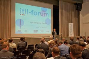 Eröffnung des 3. ITIL Forums Schweiz durch Martin Andenmatten