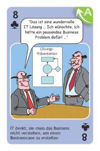 IT denkt, man muss das Business nicht verstehen