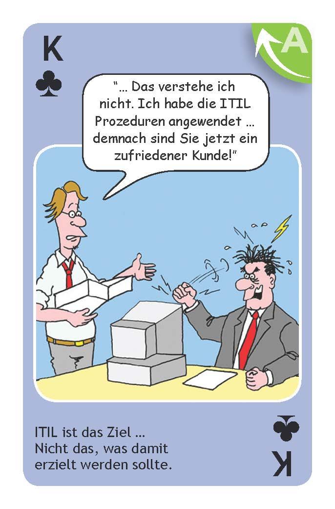 ITIL wird als Ziel definiert - nicht das, was man eigentlich erreichen sollte