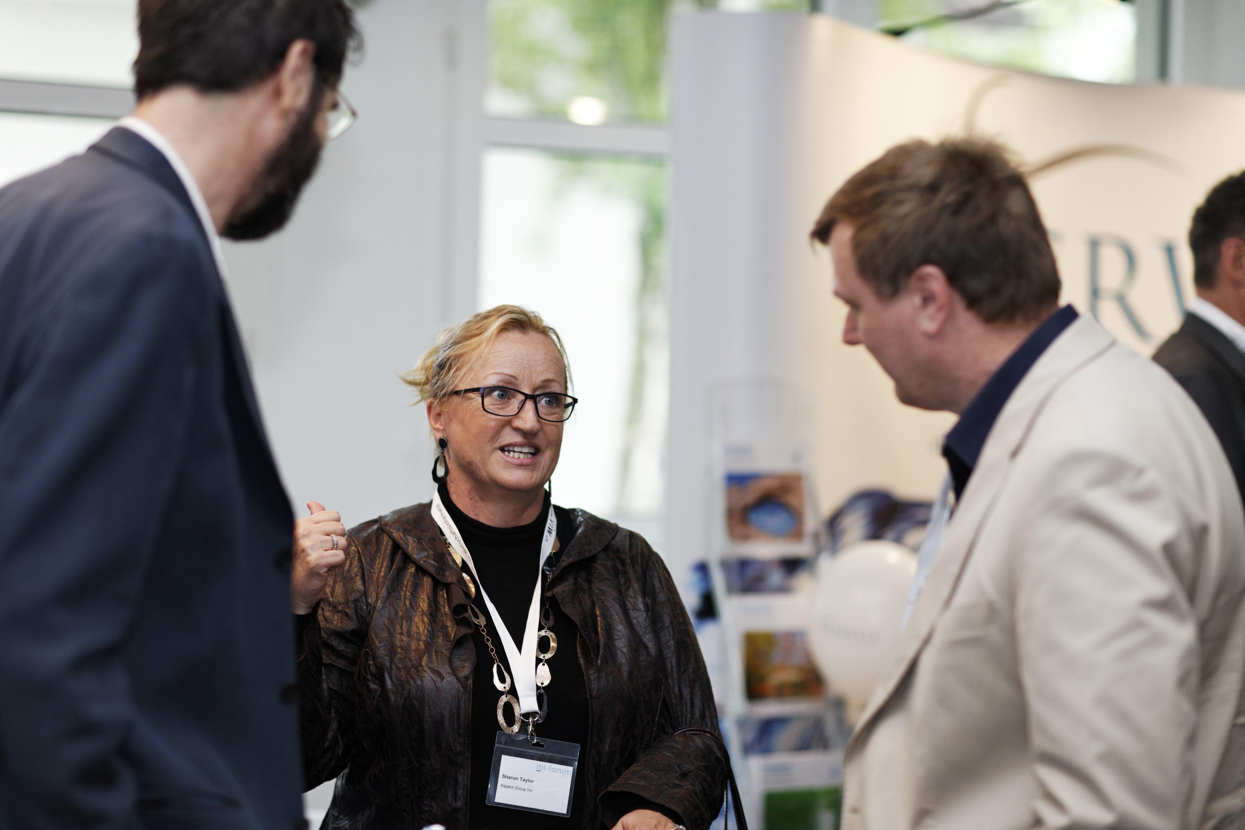 ITIL-Forum Schweiz 2012 mit Sharon Taylor