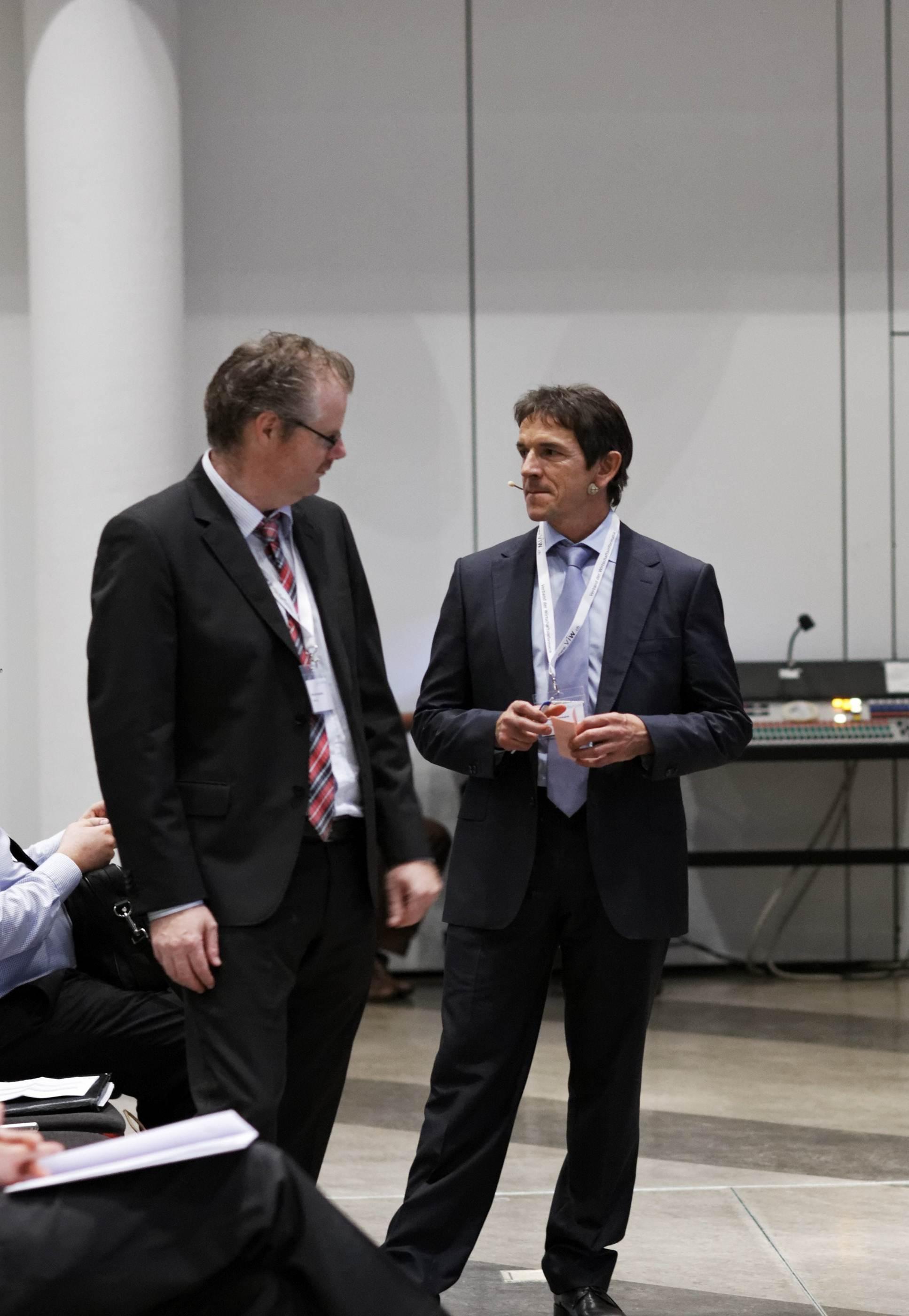 Martin Andenmatten & Thomas Estermann - die Organisatoren des ITIL-Forum Schweiz