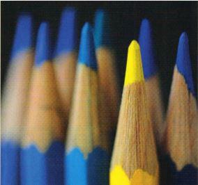 Farbspitzen