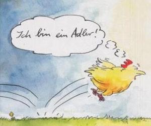 (C)  Eichborn-Verlag (Peter Gaymann - Gaymanns beste Hühner)