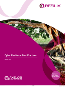 RESILIA - The Cyber Resilience Best Practices von Axelos