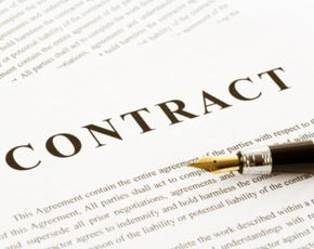 Contract concerns regarding externally managed, private cloud services