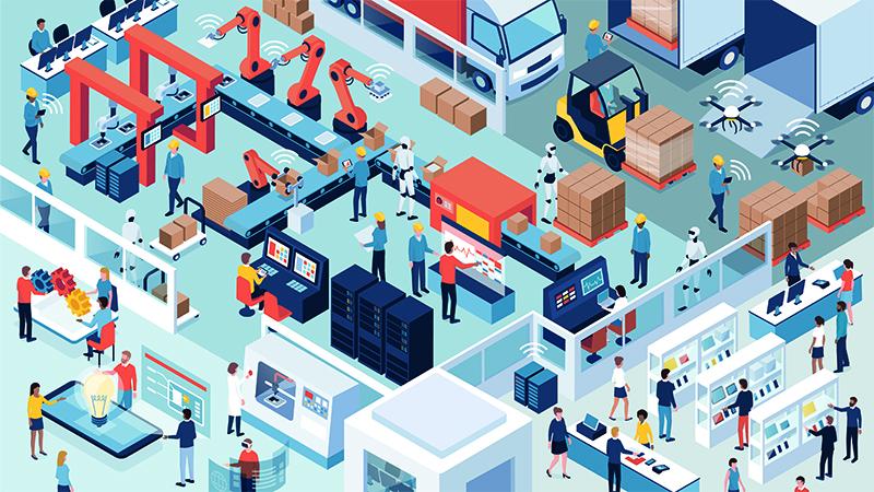 Die IT-Organisation als digitale Fabrik